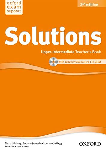 9780194553735: Solutions Upper-Intermediate: Teacher's Book & CD-ROM Pack 2nd Edition (Solutions Second Edition)