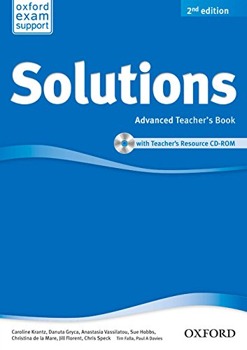 9780194553742: Solutions Advanced: Teacher's Book & CD-ROM Pack 2nd Edition (Solutions Second Edition)