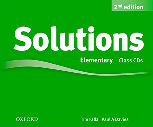 9780194554237: Solutions Elementary: Class CD 2nd Edition (3) (Solutions Second Edition)