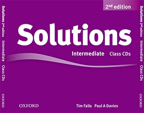 9780194554251: Solutions: Intermediate: Class Audio CDs (3 Discs)