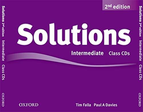 9780194554251: Solutions: Intermediate: Class Audio CDs (3 Discs)