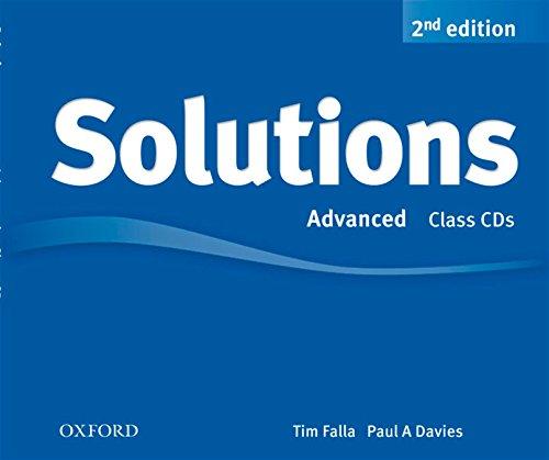 9780194554275: Solutions: Advanced: Class Audio CDs (3 Discs)