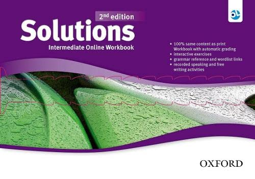 9780194554947: Solutions: Intermediate: Online Workbook - Card with Access Code