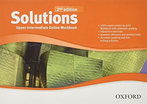9780194554954: Solutions: Upper-Intermediate: Online Workbook