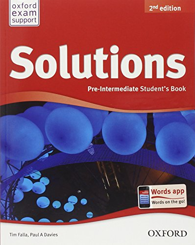 9780194555111: Solutions. Pre-intermediate. Student's book-Workbook. Per le Scuole superiori. Con espansione online