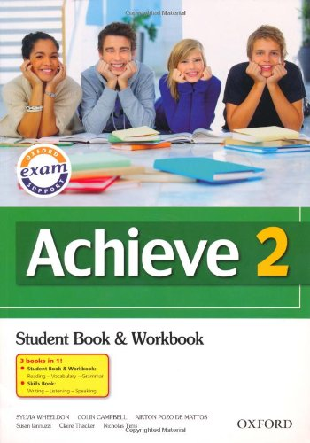 9780194556071: Achieve 2: Combined Student Book, Workbook and Skills Book