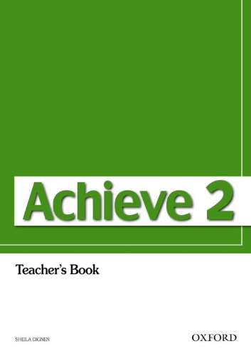 9780194556101: Achieve 2: Teacher's Book