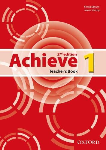 9780194556354: Achieve: Level 1: Teacher's Book
