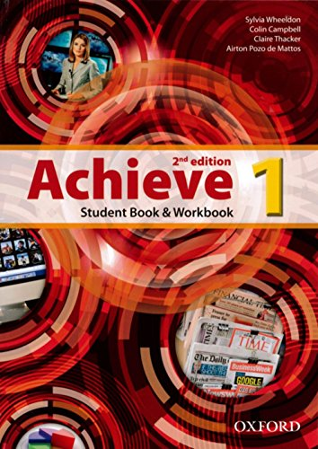 9780194556408: Achieve: Level 1: Student Book and Workbook