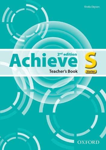 Achieve: Starter: Teacher's Book English