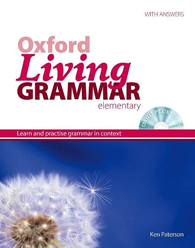9780194557047: Oxford Living Grammar Elementary. Student's Book Pack