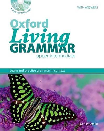9780194557108: Oxford Living Grammar: Upper-Intermediate: Student's Book Pack