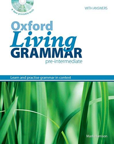 OXFORD LIVING GRAMMAR PRE-INTERMEDIATE STUDENT'S BOOK PACK: KEN PATERSON, MARK
