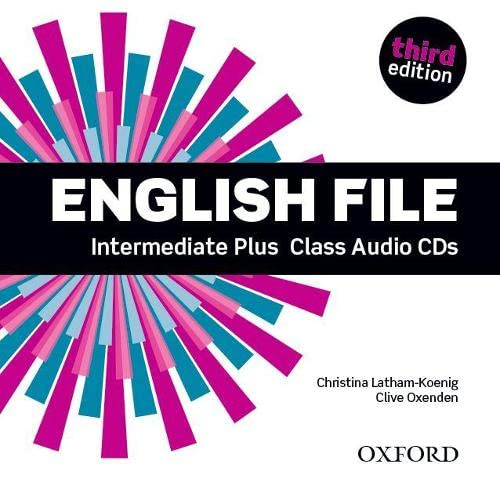 9780194558181: English File third edition: English File 3rd Edition Intermediate Plus. Class CD