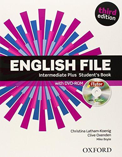 9780194558310: English File third edition: English file. Intermediate plus. Student's book-Itutor. Con espansione online. Per le Scuole superiori