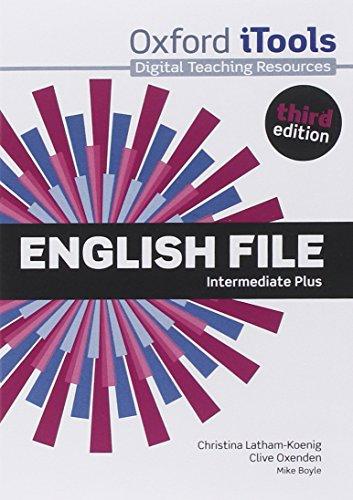 9780194558327: English File third edition: English File 3rd Edition Intermediate Plus. iTools