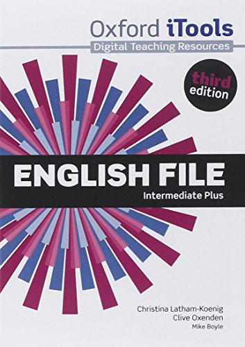 9780194558327: English File third edition: Intermediate Plus: iTools