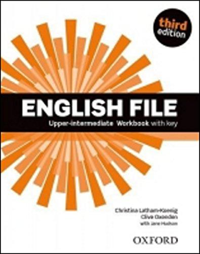 9780194558501: English File third edition: English file digital. Upper intermediate. Workbook. With key. Con espansione online. Per le Scuole superiori