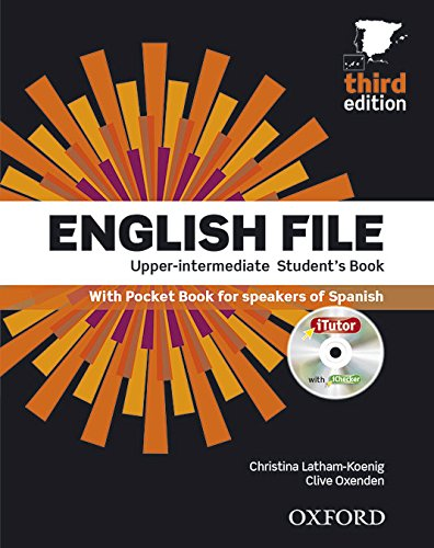 9780194558655: English File Upper-Intermediate: Student's Book Work Book Without Key Pack (3rd Edition) (English File Third Edition)