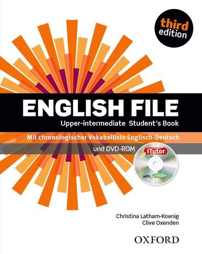 9780194558693: English File. Upper Intermediate Student's Book & iTutor DVD-ROM Pack (DE/AT/CH)