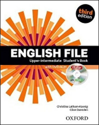 9780194558747: English File Upper-intermediate : Student's Book (1DVD)