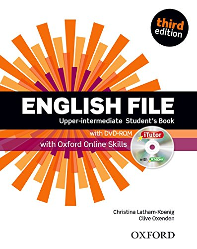 9780194558754: English File third edition: Upper-intermediate: Student's Book with iTutor and Online Skills