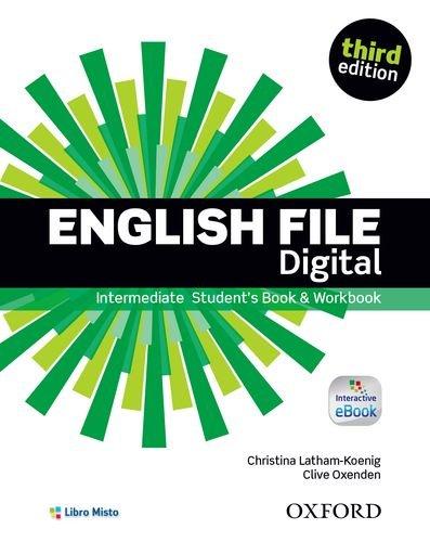 9780194558952: English file digital. Intermediate. Entry checker-Student's book-Workbook. Con e-book. Con espansione online. Per le Scuole superiori
