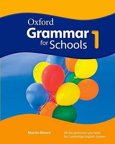 9780194559072: Oxford grammar for schools. Student's book. Per la Scuola media. Con DVD-ROM: 1