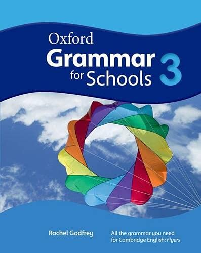 9780194559096: Oxford Grammar for Schools: 3: Student's Book and DVD-ROM