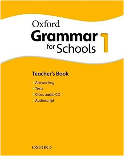 9780194559140: Oxford Grammar for Schools: 1: Teacher's Book and Audio CD Pack