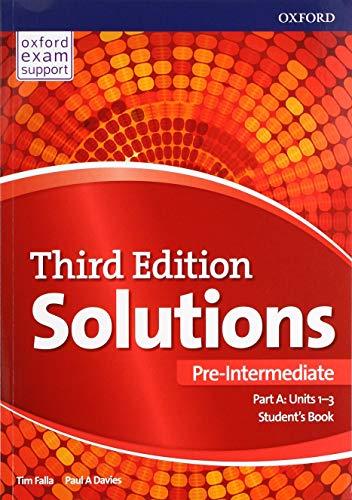 Solutions: Pre-Intermediate: Student's Book A Units 1-3: Paul Davies, Tim