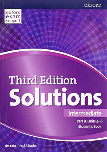 Solutions: Intermediate: Student's Book B Units 4-6: Paul Davies, Tim
