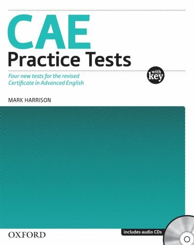 9780194565004: CAE Practice Tests, New Edition: Book With Answers