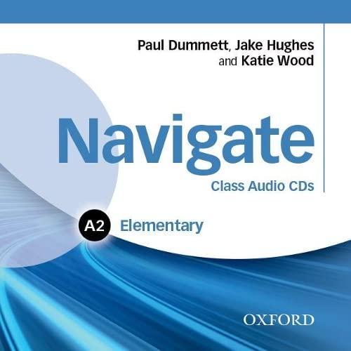9780194565288: Navigate: Elementary A2: Class Audio CDs