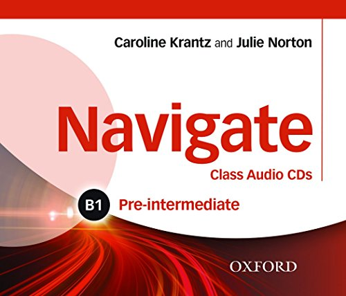 9780194565486: Navigate: Pre-intermediate B1: Class Audio CDs