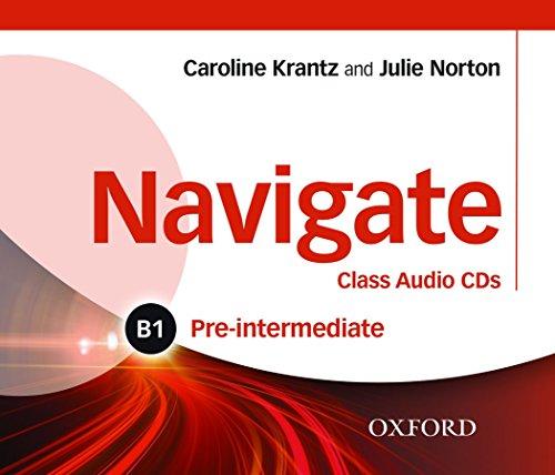 9780194565486: Navigate: Pre-intermediate B1: Class Audio CDs