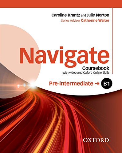 9780194566490: Navigate: Pre-intermediate B1: Coursebook with DVD and online skills