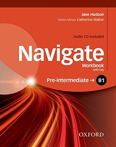 9780194566537: Navigate: B1 Pre-intermediate: Workbook with CD (with key)