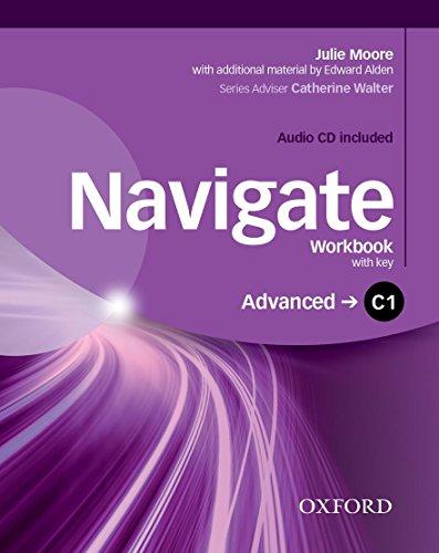 9780194566926: Navigate C1. Workbook. With key. Per le Scuole superiori. Con e-book. Con espansione online