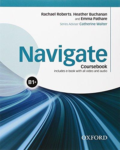 9780194567695: Navigate B1. Student's book-Workbook. No key. Per le Scuole superiori. Con e-book. Con espansione online
