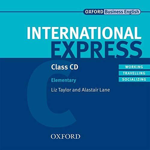 9780194568043: International Express: Elementary: Class Audio CDs