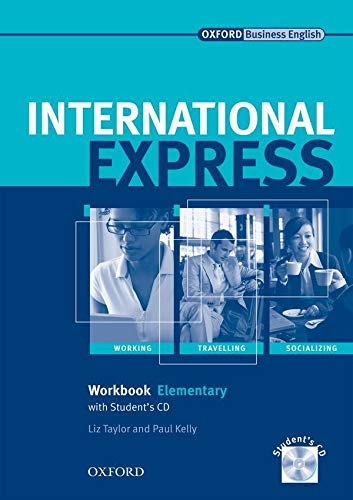 9780194568135: International Express: Elementary Workbook and Student's Audio CD