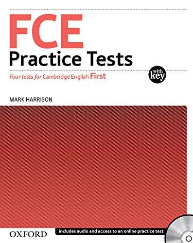 9780194568753: FCE practice tests. With key. Con CD Audio. Per le Scuole superiori
