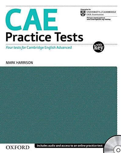 9780194568760: CAE practice tests. With key. Con CD Audio. Per le Scuole superiori