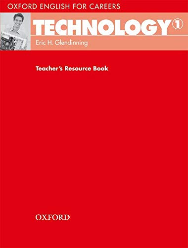 9780194569514: Oxford English for Careers: Technology 1: Technology 1. Teacher's Book
