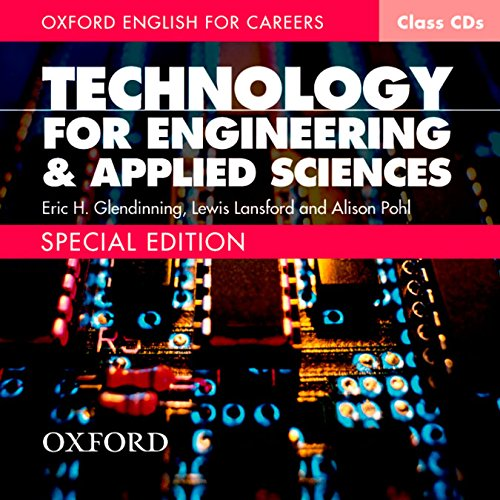 9780194569736: Oxford English for Careers Technology for Engineering and Applied Sciences: Class Audio CD