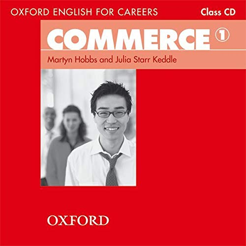9780194569828: Oxford English for Careers Commerce 1: Class CD