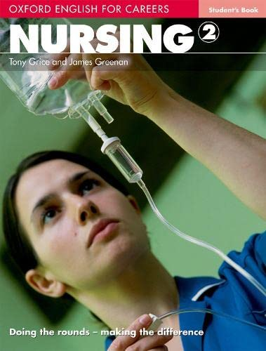 9780194569880: Nursing 2. Student's Book: Vol. 2 (English for Careers)