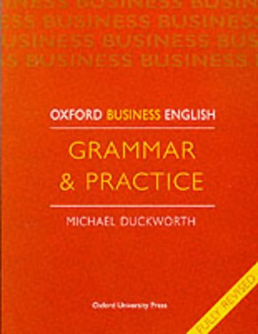9780194570688: Oxford Business English: Grammar and Practice