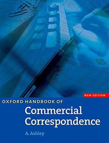 9780194572132: Oxford Handbook of Commercial Correspondence, New Edition: Handbook